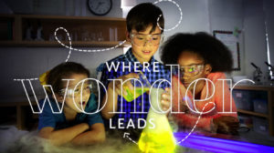 "Community School Web Slider: ""Where Wonder Leads"""
