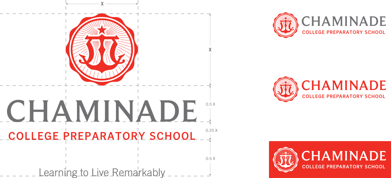 Chaminade brand guidelines