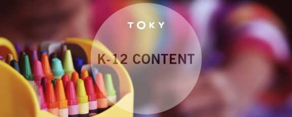 K-12 Blog Post Types by TOKY