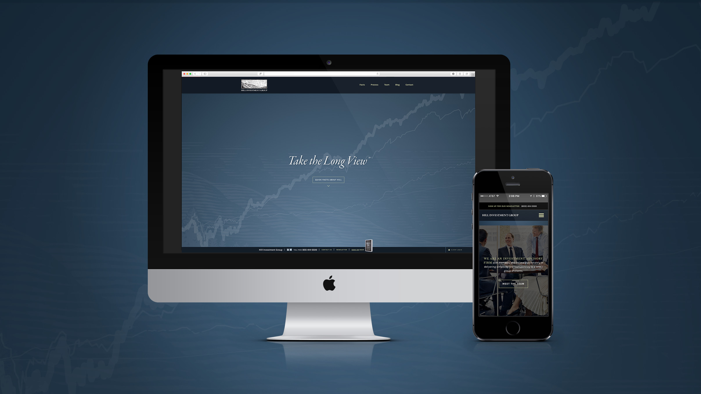 Hill Investment Group Site by TOKY