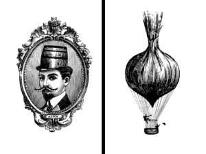 Small Batch Illustrations: Onion Balloon