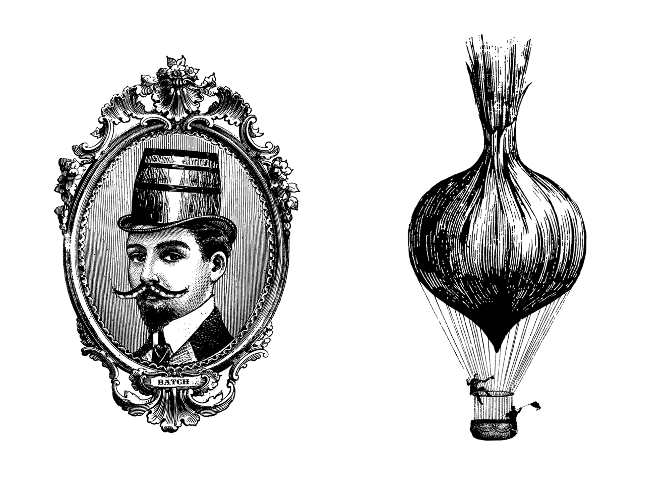 Small Batch Illustrations: Onion Balloon