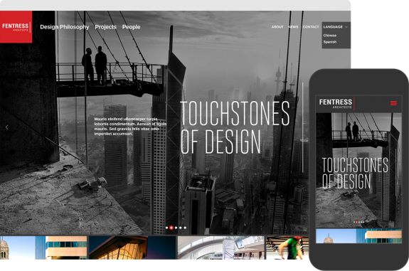 Fentress Architects Website by TOKY