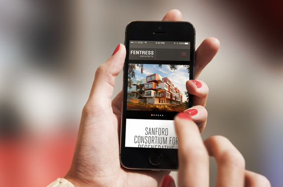Fentress Architects Website Mobile by TOKY