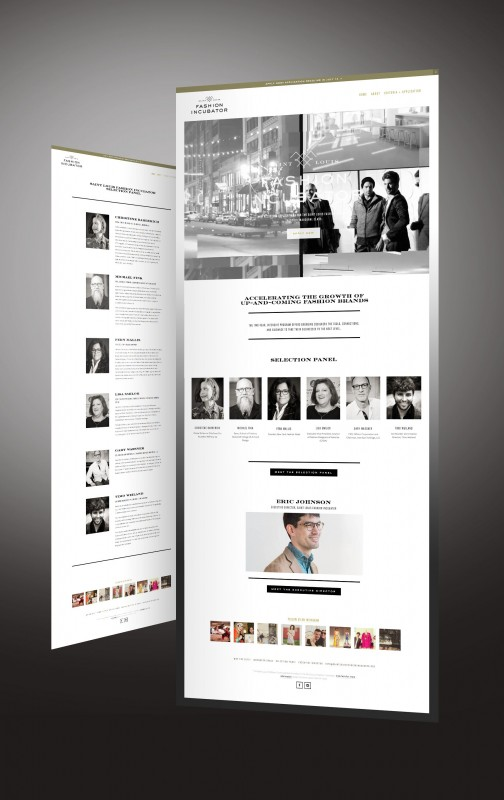 Saint Louis Fashion Incubator Website by TOKY