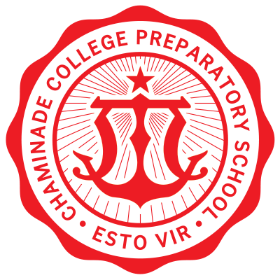 Redesigned logo for Chaminade