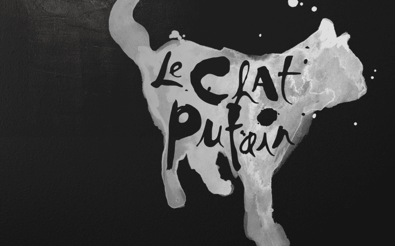 Le Chat Putain Cat Logo
