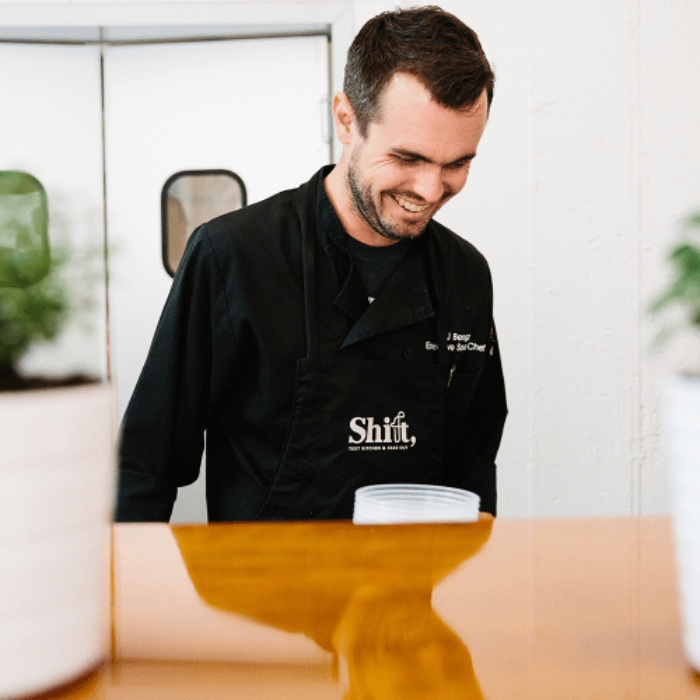 Shift, Test Kitchen & Take Out