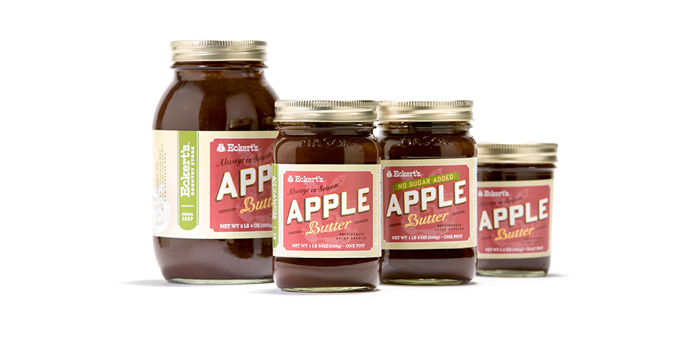 Eckert's Apple Butter Packaging