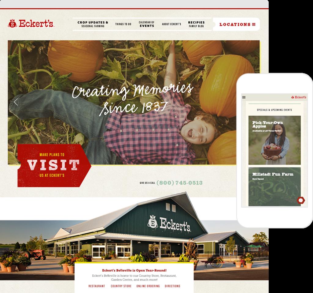 Eckerts Web Site