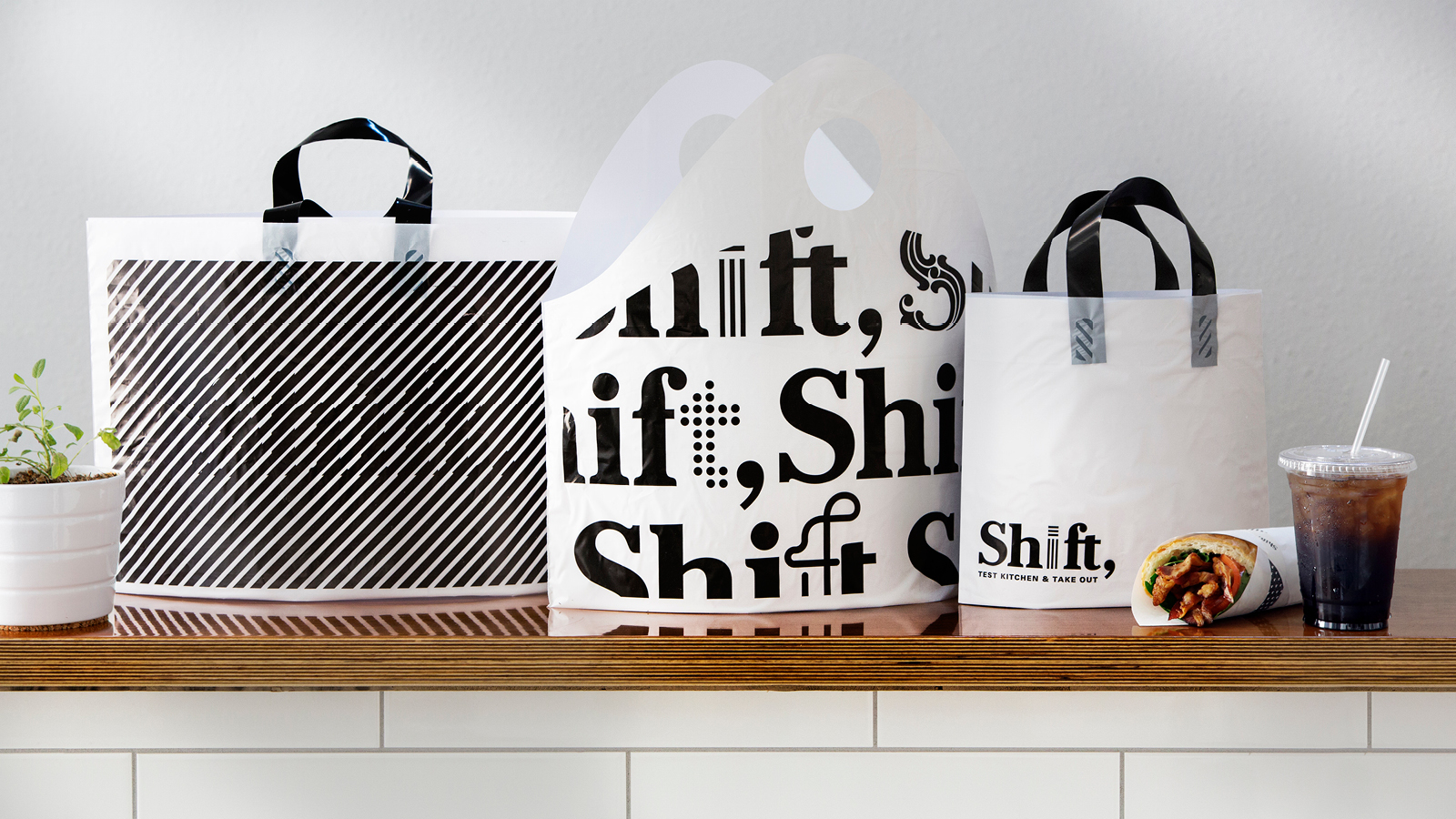 Shift Test Kitchen Packaging