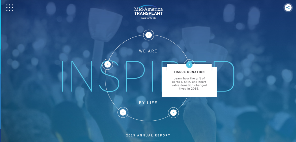 Online Annual Report Sections