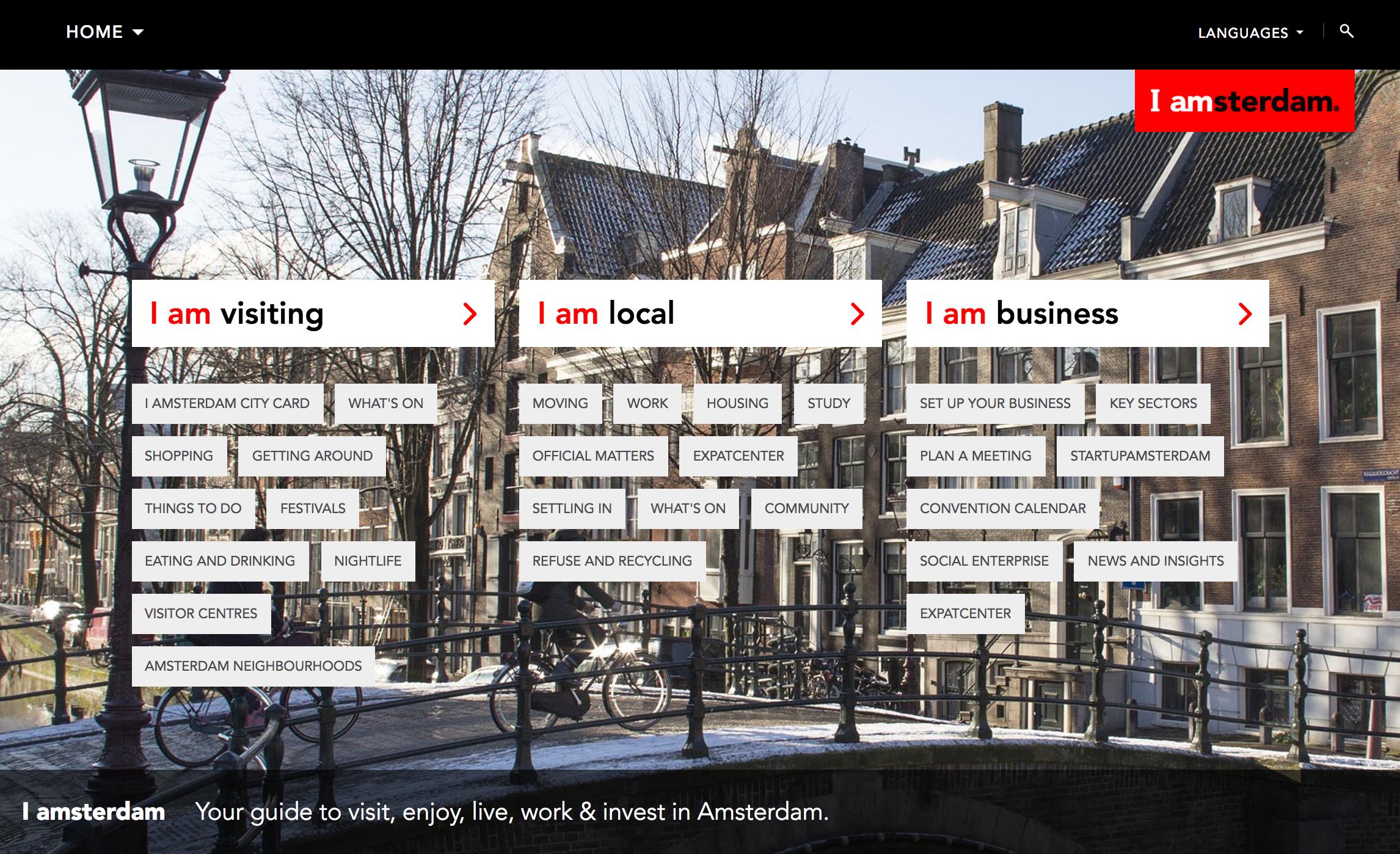 Amsterdam City Branding - Glasgow City Branding - Place Branding Example