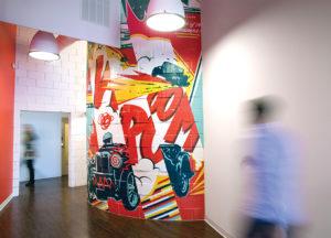 REO Lofts Mural Midtown St. Louis