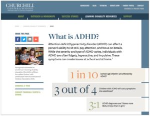 ADHD Guide from Churchill's Website