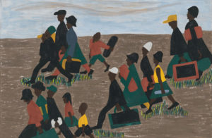 Jacob Lawrence Migration Series Panel 40