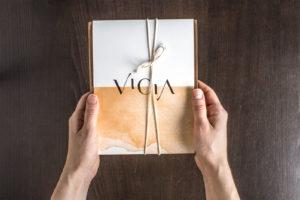 Vicia menu front