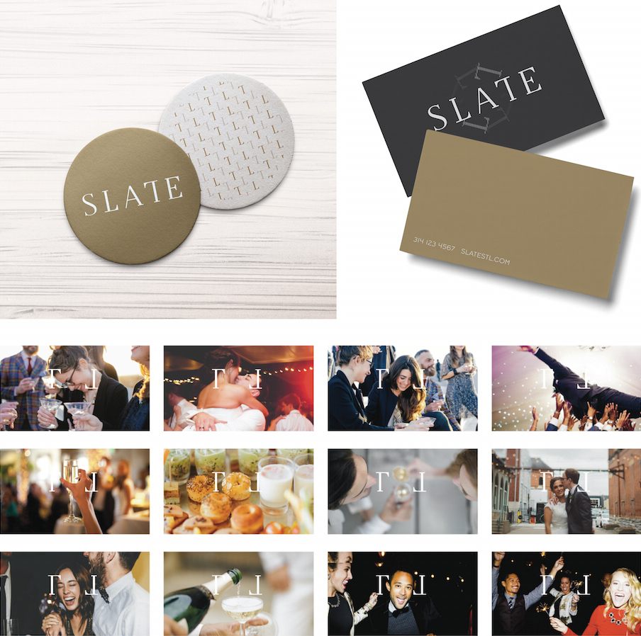 Slate branding in context