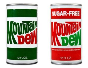 Mountain Dew Logo by Ruth Guzik