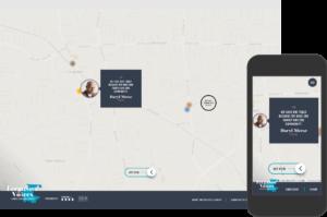Secondary navigation for Ferguson Voices website map