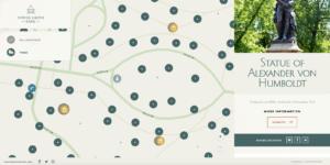 Interactive park map design