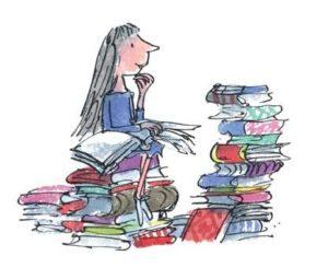 children's book design Matilda