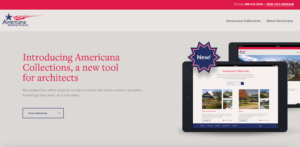 Americana Collections microsite