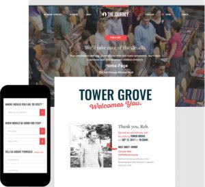 Plan A Visit Desktop and Mobile design preview