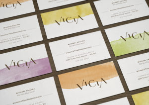 Vicia business cards