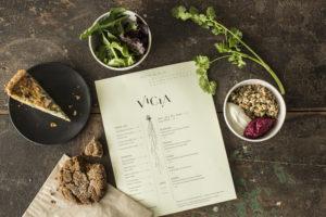 Vicia menu