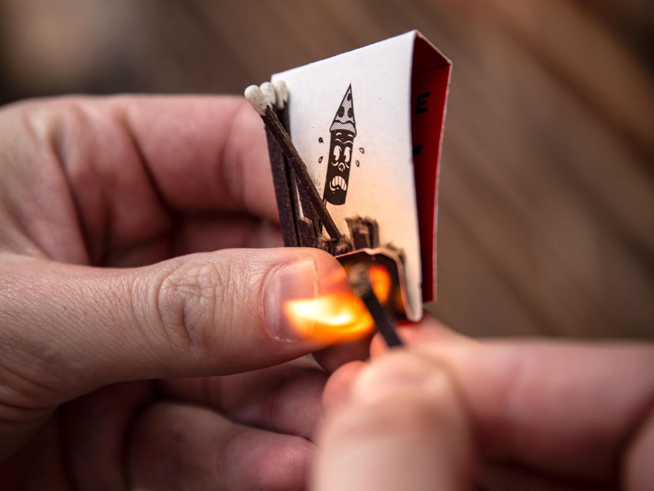 Photo of Firecracker matchbook