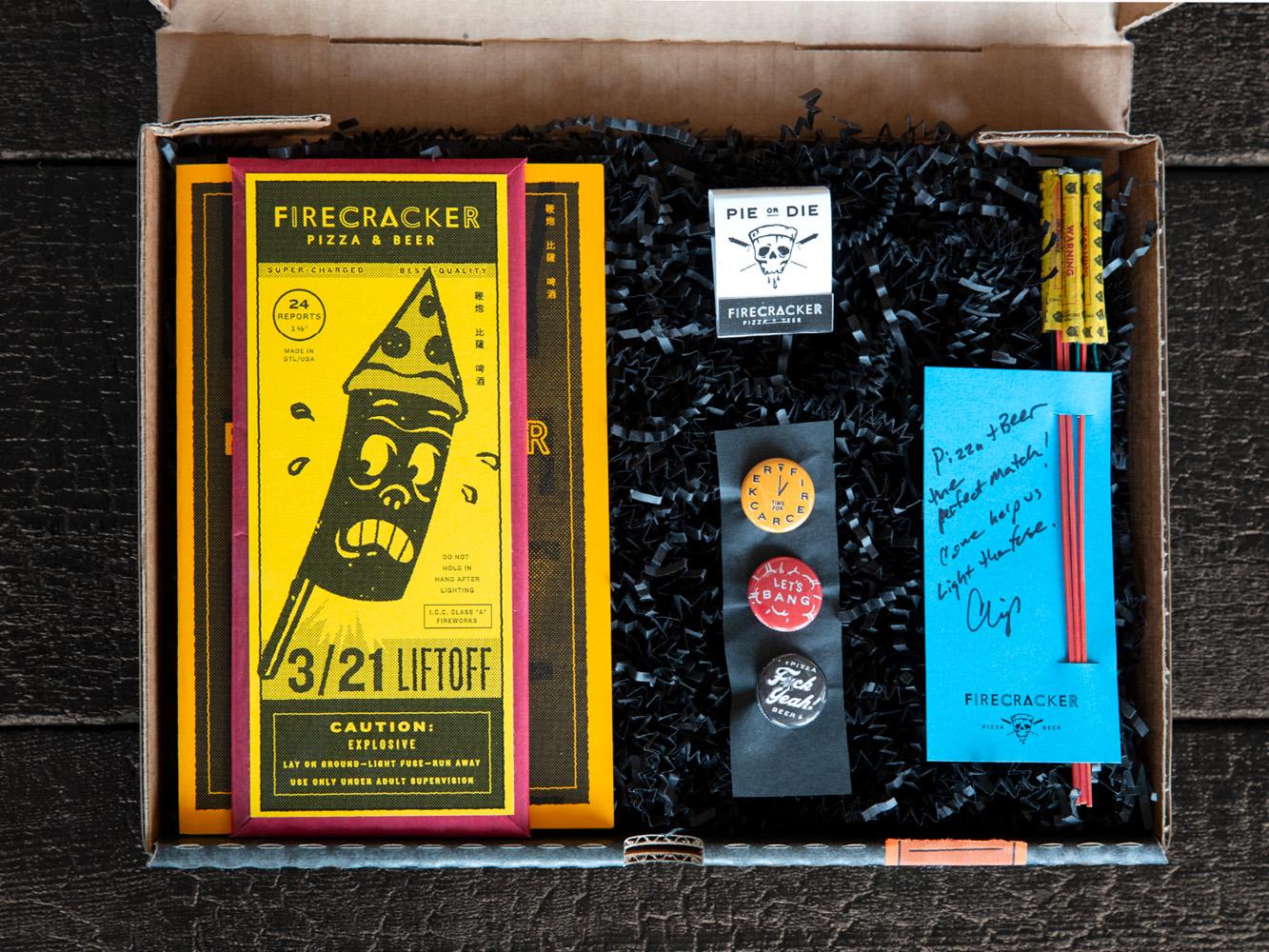 Photo of Firecracker Pizza Press Box