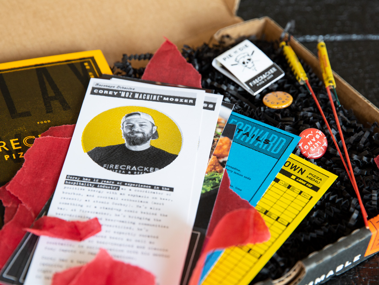Photo of Firecracker Pizza Press Box Info