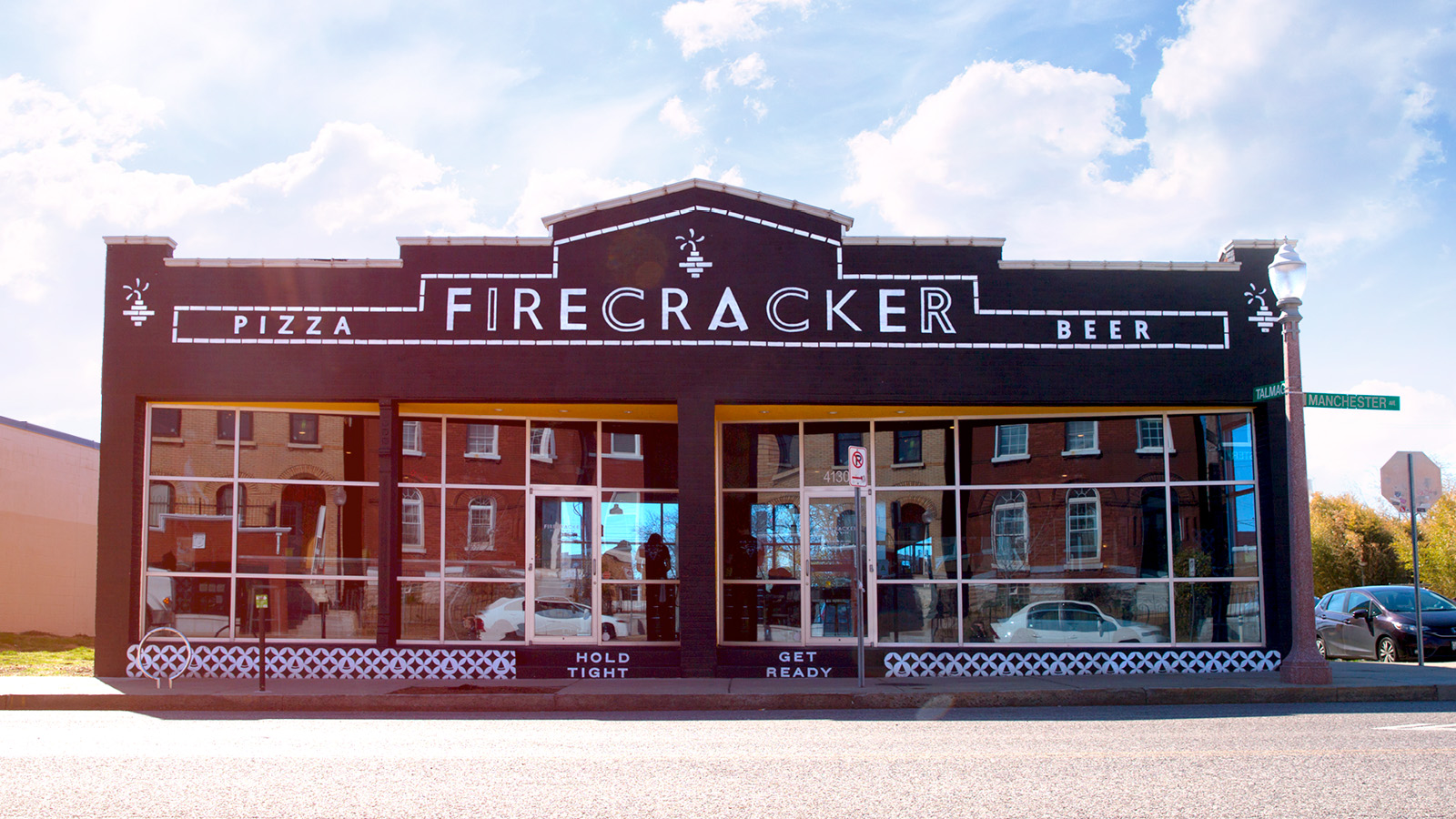 Photo of Firecracker Pizza Handpainted Signage