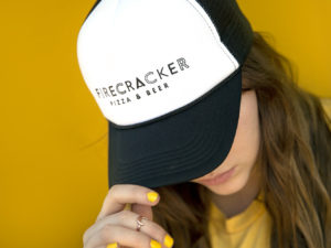 Photo of Firecracker Pizza trucker hat