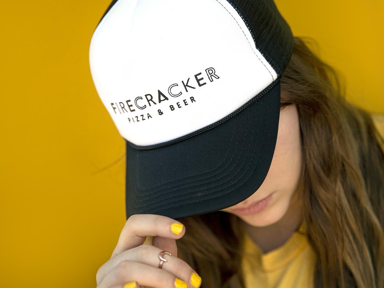 Photo of Firecracker Pizza trucker hat
