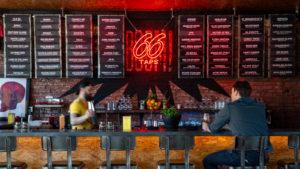 Photo of Firecracker 66 taps neon signage