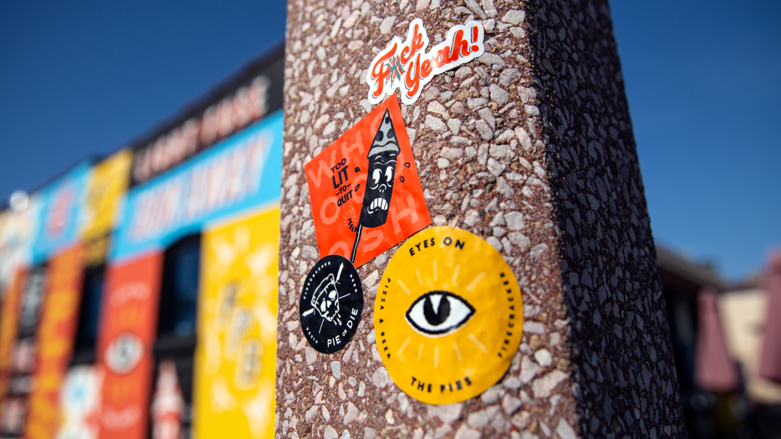 Photo of Firecracker Pizza Stickers