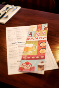 Drink Menu for Baileys' Range