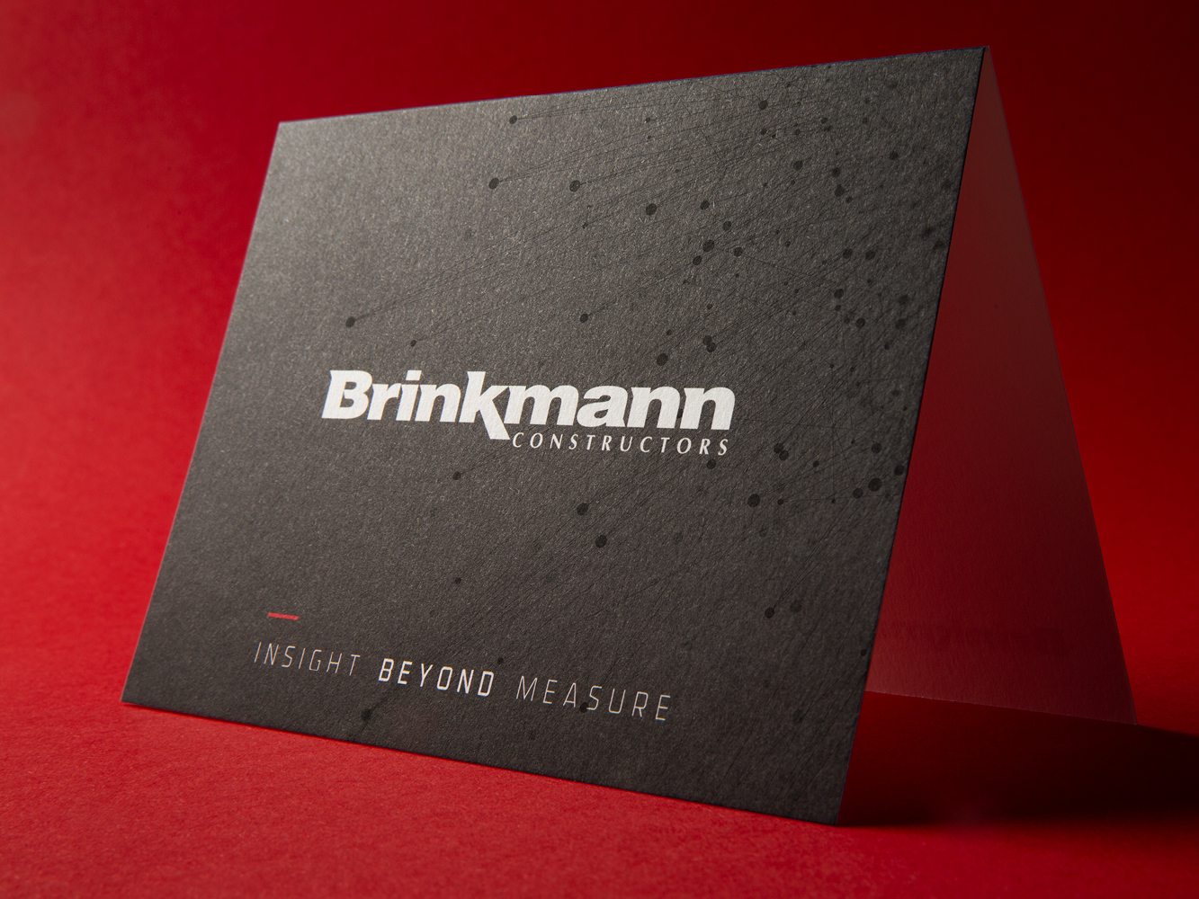 Brinkmann Constructors business card front