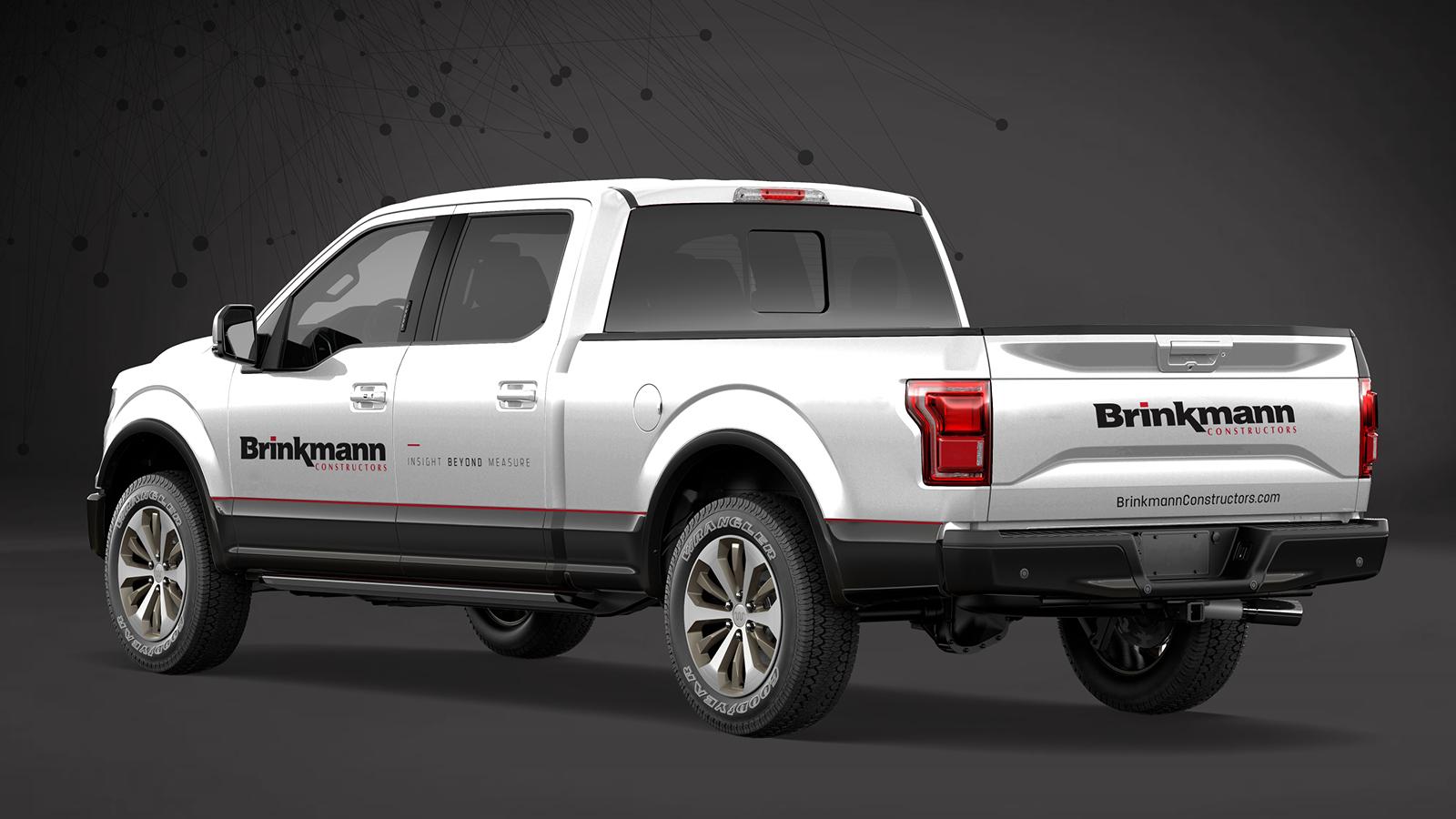 Branded Brinkmann Pickup Truck