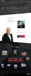 Screenshot of Brinkmann Constructors Home Page