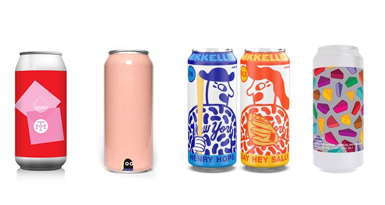 Examples of Art-Forward Beer Labels