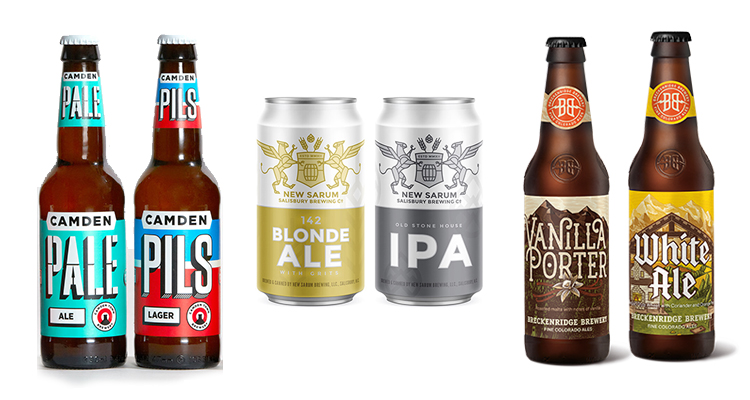 Examples of Style-Forward Beer Labels