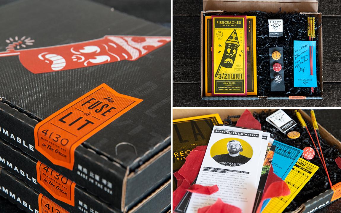 Press Kit for Firecracker Pizza