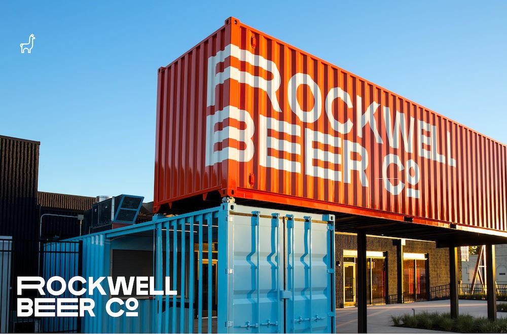 Rockwell Beer Co. Exterior Branding