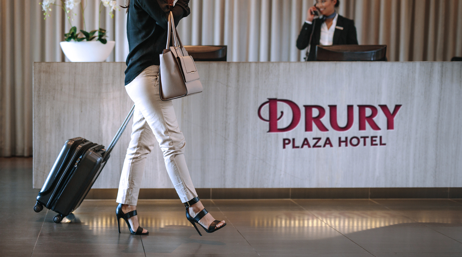 Drury Hotels concierge desk
