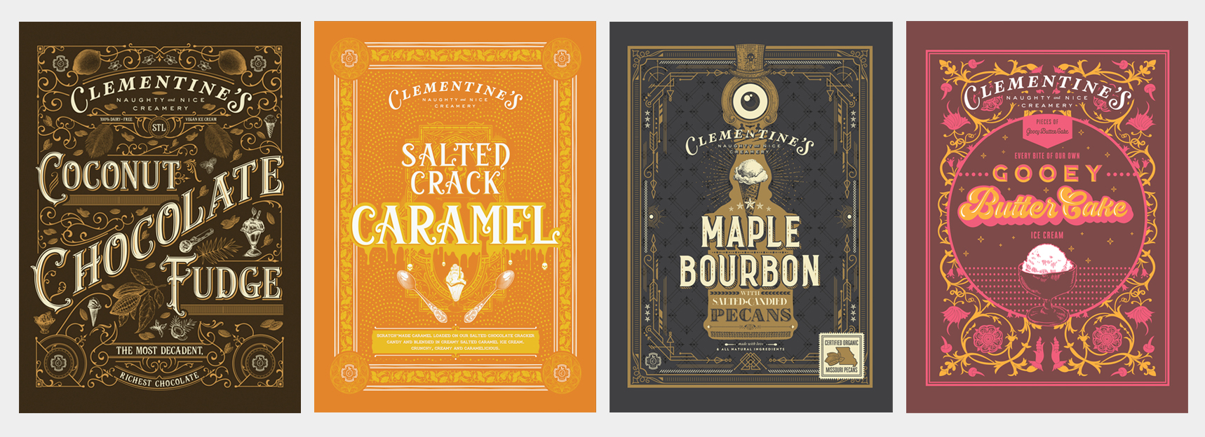 Four Posters for Clementine's