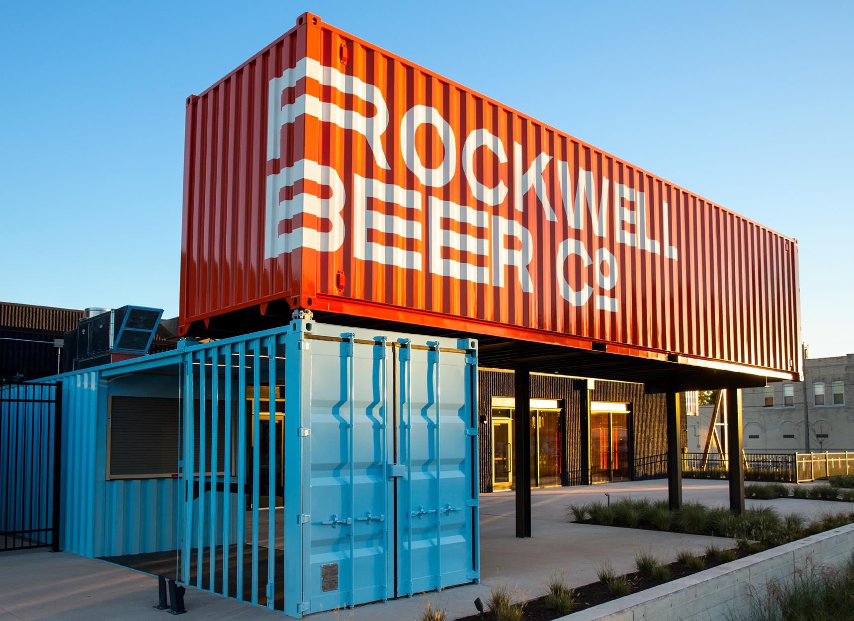 Rockwell Beer Exterior Shot