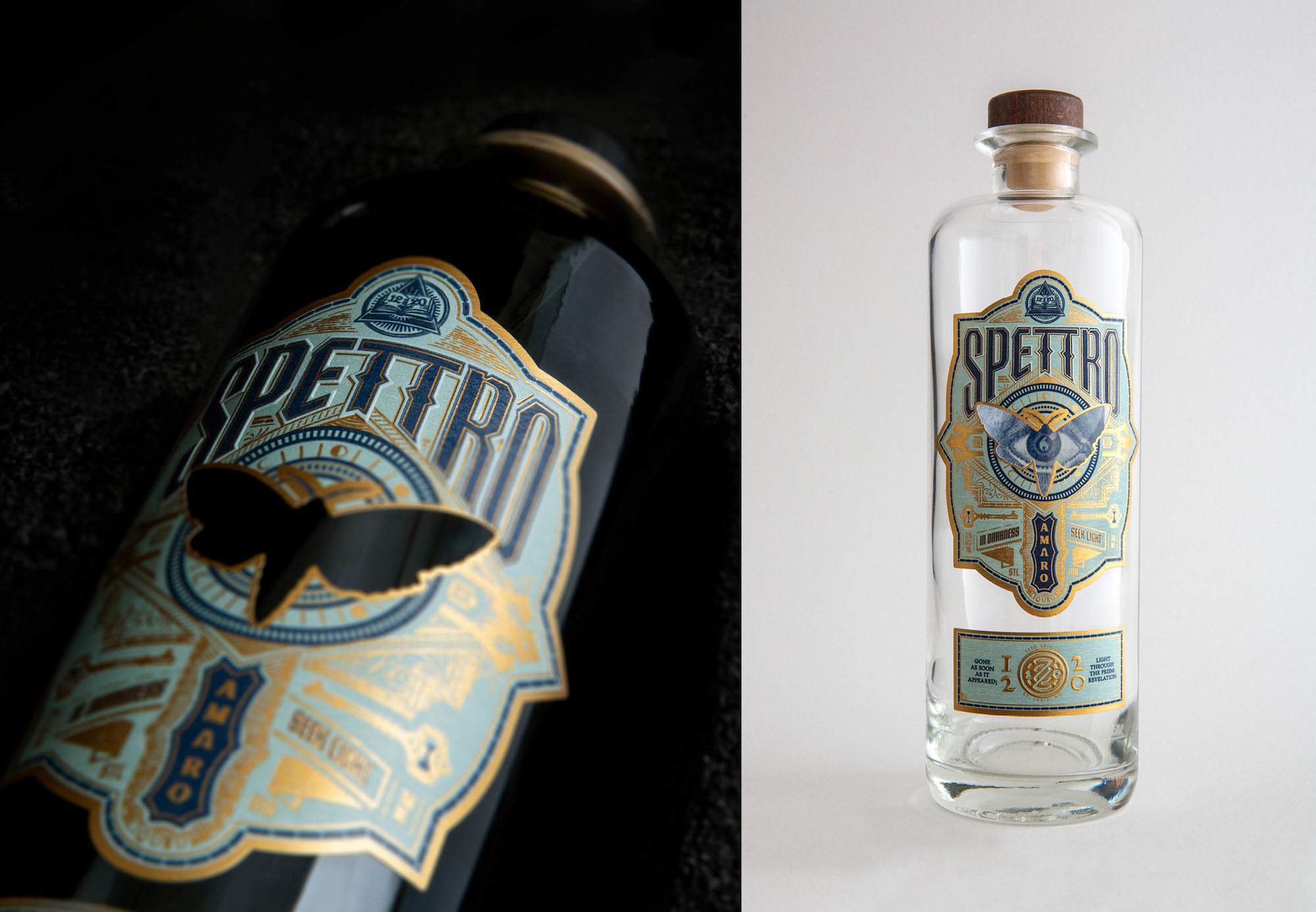 Photo of Spettro bottle design